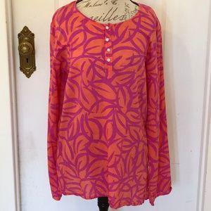 See Design Cotton Voile Tunic XL